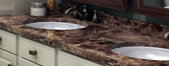 best material for kitchen sink track lighting ideas bathroom countertops | countertop guidescountertop guides
