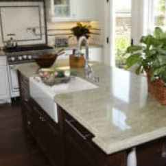 Granite Kitchens Kitchen Faucet Sprayer Hose Pros And Cons Of Countertops Countertop Guides White