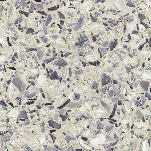 Cement Surfacing Material Vetrazzo in Amethystos color