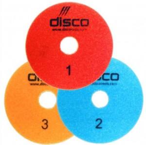 disco 3step polishing pads
