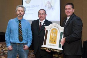 Andrew Swinley (left), with 2016 MIA President David Castellucci and 2016 BSI President Aaron Hicken.