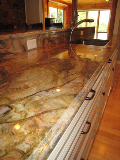 Granite Countertops With Oak Cabinets