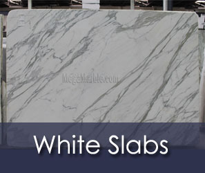 White Slabs for Countertop CT