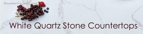 White Quartz Slab Countertops in Connecticut