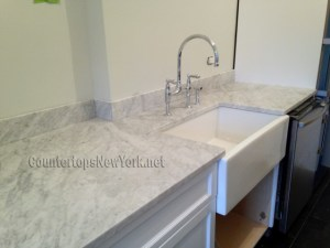 Kitchen Countertops White Carrara NYC