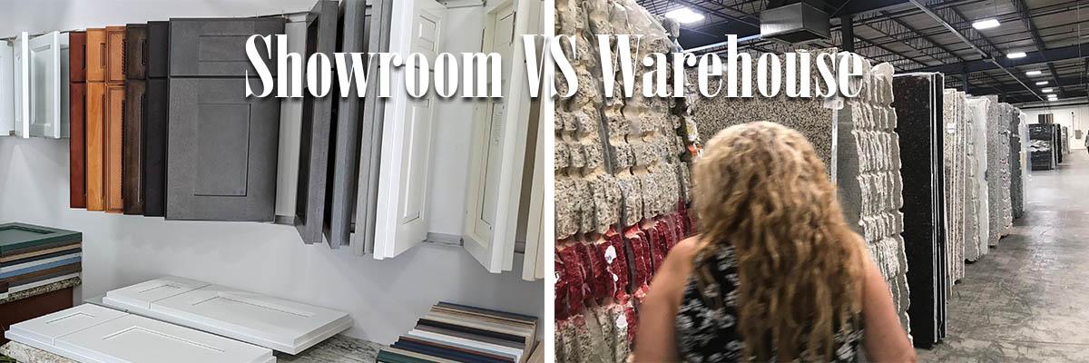 Showroom VS Warehouse