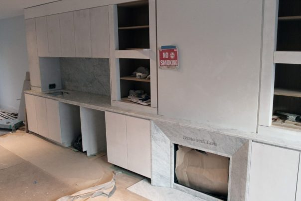 White Carrara Marble Countertop
