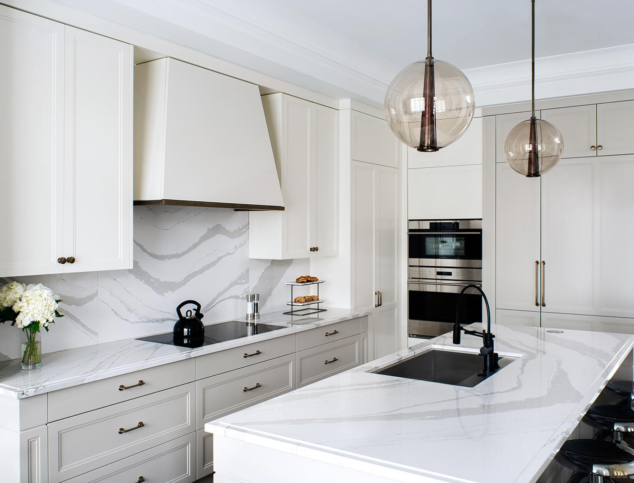 Popular White Quartz Countertops K D Countertops