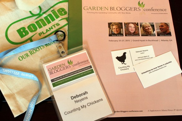Garden Bloggers Conference 2015