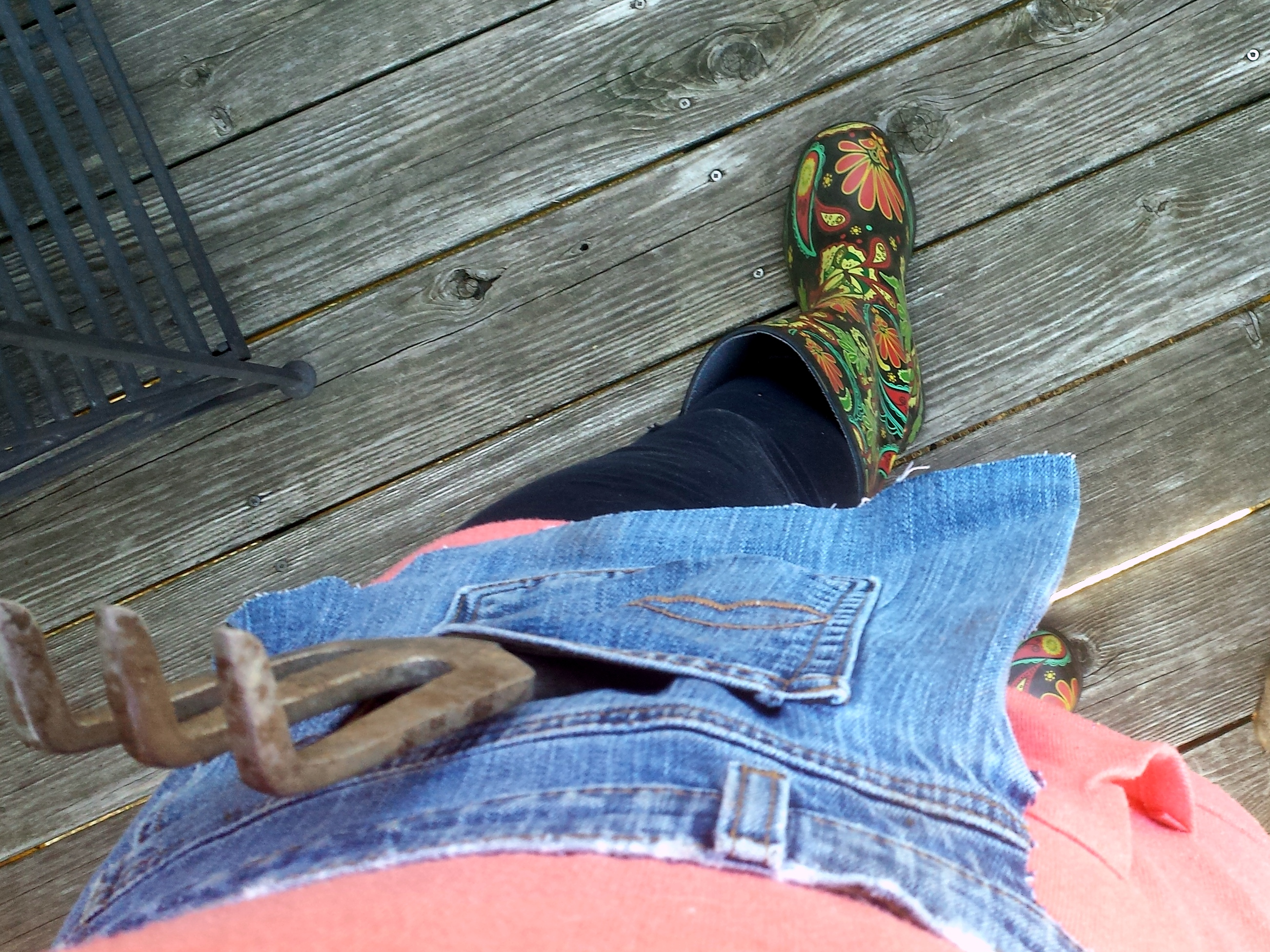 Blue apron how to recycle - Recycling An Old Pair Of Jeans