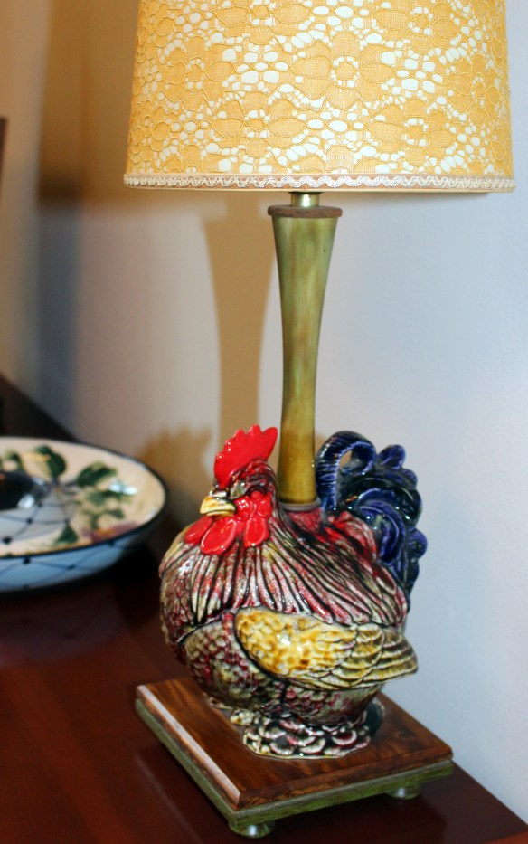 chicken lamp