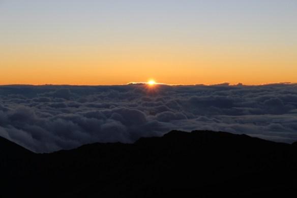 Christmas 2016 Sunrise on Haleakala