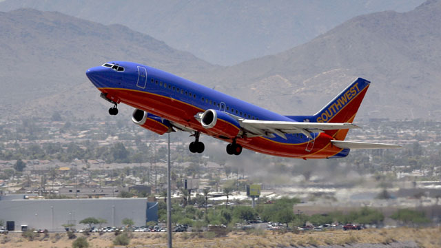 Southwest Airlines plane_266239
