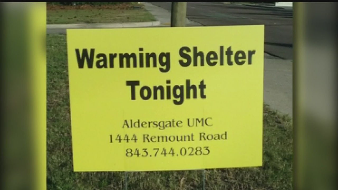 Aldersgate Methodist Warming Shelter