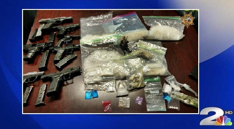Drug bust in Berkeley County