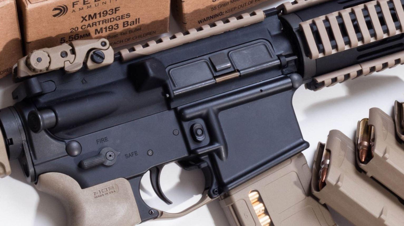 AR-15 AR15 ASSAULT RIFLE GUN_503850