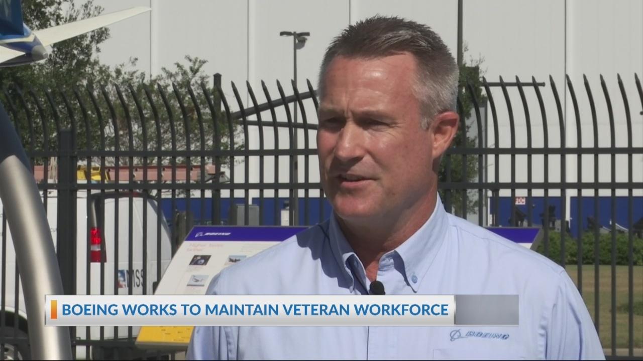 Boeing works to maintain veteran workforce