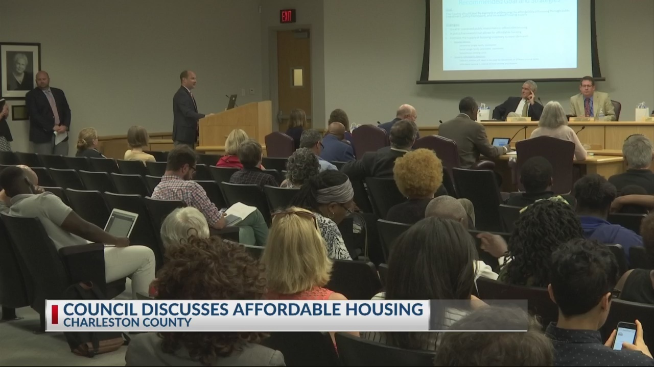 Taskforce presents affordable housing report to Charleston County Council