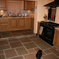 Stone Kitchen Flooring Amazon Tables Interior Landscaping Natural Floors For Kitchens And Farmhouse