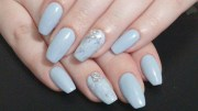 learn grey coffin nails