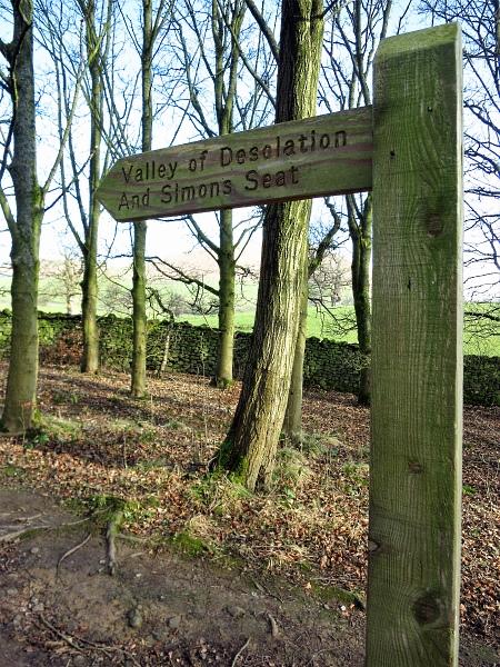 Valley of Desolation walk, Bolton Abbey