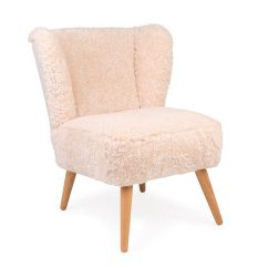 Sheepskin Chair Covers For Recliners Uk King Furniture Dining Chairs Interiors Trend How To Get The Alpine Chalet Look What