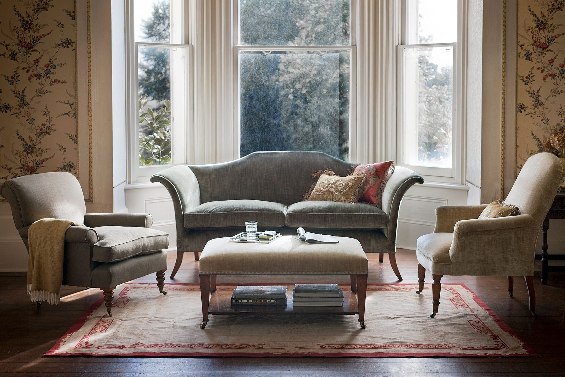 ashley manor harriet sofa in mink feet home depot 50 43 country house interiors ideas we love interior