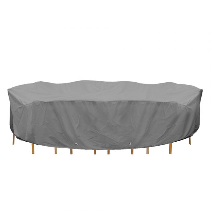 premium furniture cover long oval table chairs