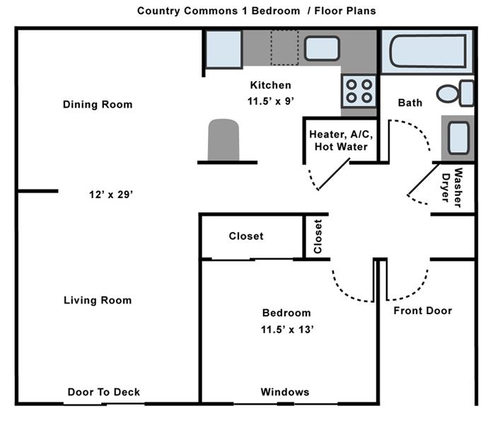 1 Bedroom Duplex Floor Plans Glif Org