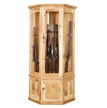 Corner Gun Cabinet Country Cottage Furniture