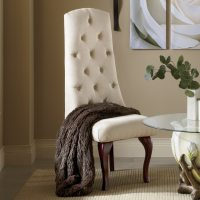 High-Back Tufted Chair | Country Door