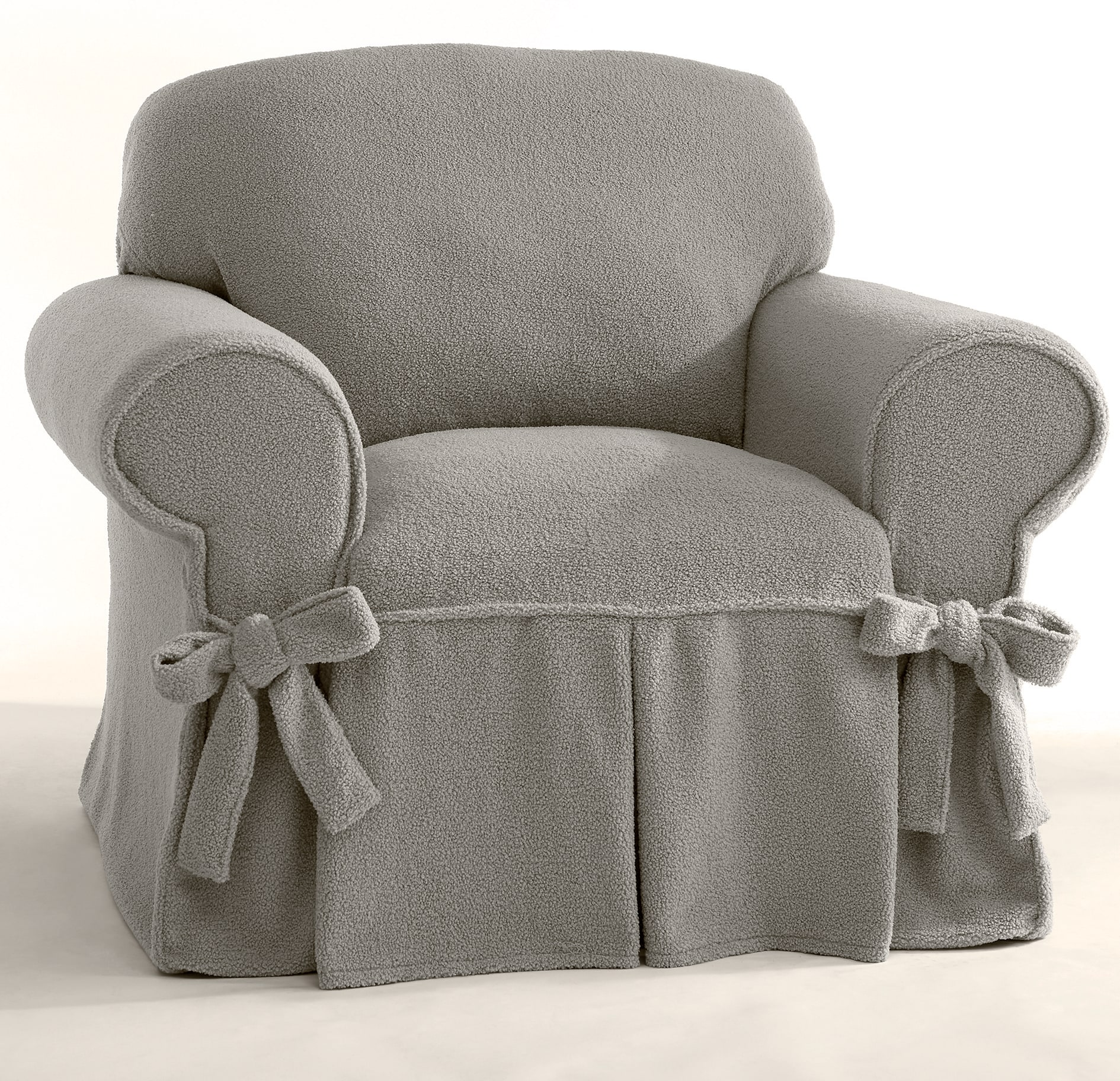 christmas chair covers ireland medical rental slipcovers sofa loveseat country door boucle and pillow cover