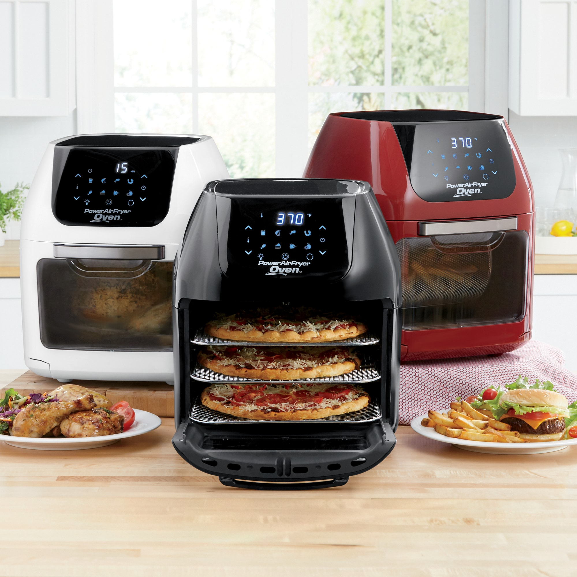 small kitchen appliances buy table stand mixers slow cookers deep fryers 7 in 1 power air fryer oven as seen on tv