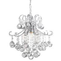 Crystal Balls Hanging Pendant Lamp | Country Door