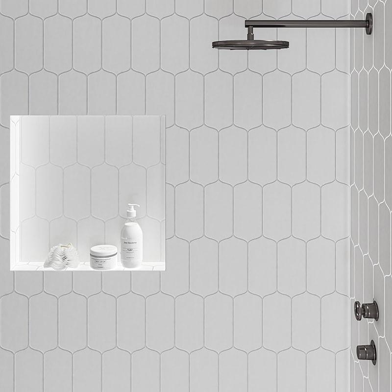 royal white glossy tear field ceramic tiles 3 5 8x8