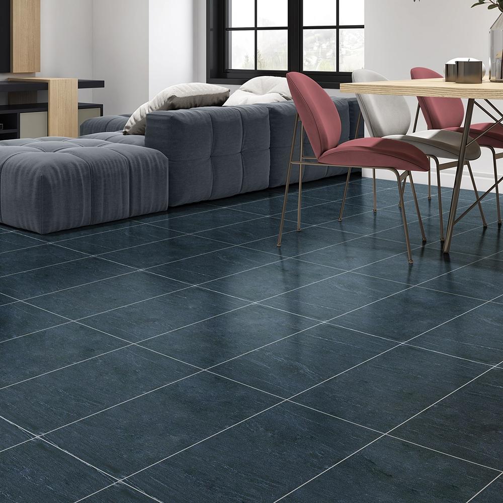 milo black matte porcelain tiles 12x24