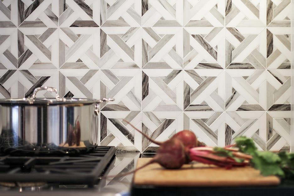 kitchen backsplash tile hand made