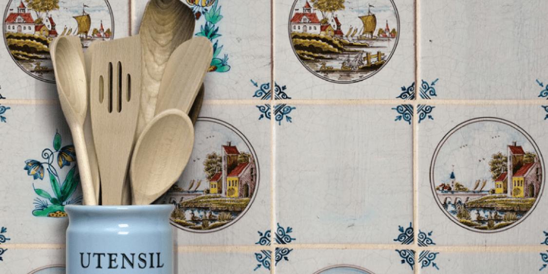 delft dutch ceramic tile