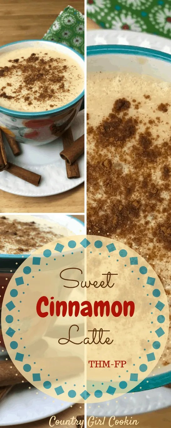 Sweet Cinnamon Latte (THM-FP, Sugar Free)