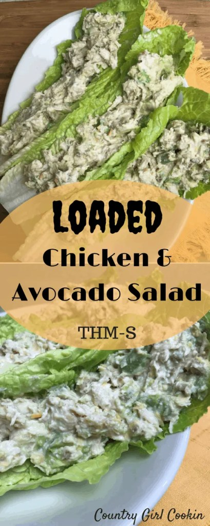 Loaded Chicken & Avocado Salad (THM-S)