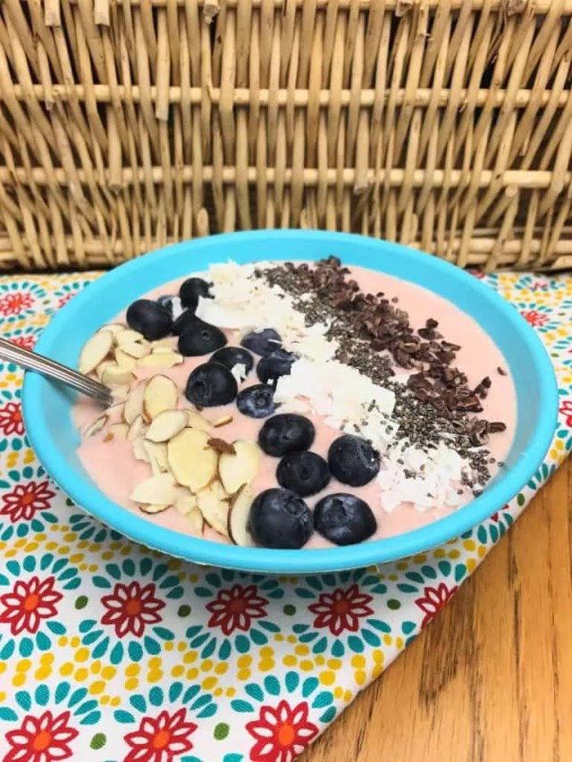 Coconut Berry Bowl (THM-S, Sugar Free)