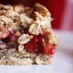 Double Layer Cherry Crisp |Country Girl Gourmet