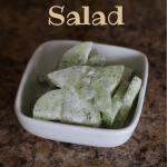 Creamy Cucumber Salad | Country Girl Gourmet