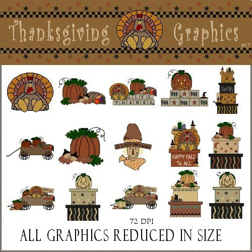 thanksgiving country clipart