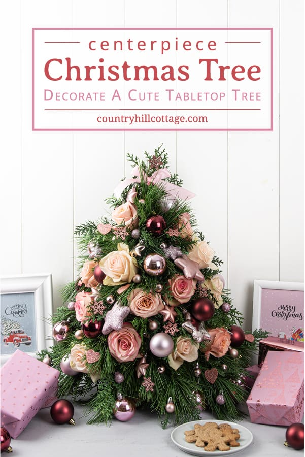 Christmas Tree Centerpiece Step By Step Tutorial