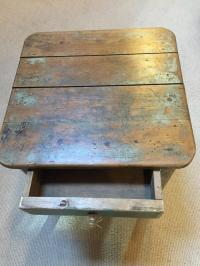Antique Bedside Table Stool in FURNITURE & BOXES