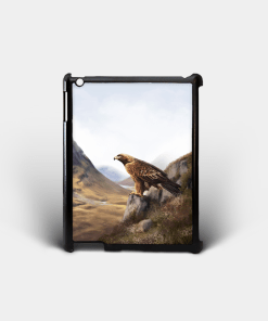 Country Images Personalised Custom Customised iPad Shell Cover Case Scotland Scottish Highlands Golden Eagle Bird of Prey Gift Gifts 2