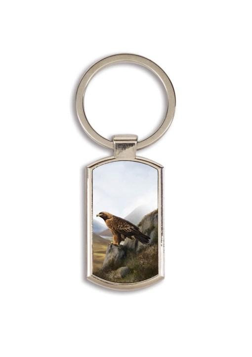 Highland Collection - Lozenge Keyring (Eagle)