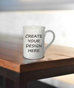 Blank Bone China Mug Gift - Ready to Personalise
