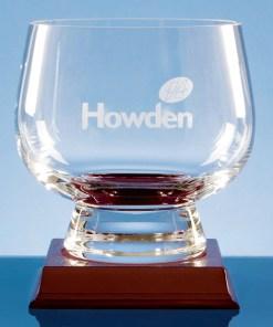 Engraved Handmade Trophy Bowl 15cm